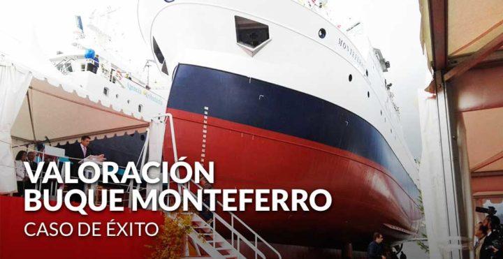 Caso de éxito en sector industrial naval: valoración buque Monteferro